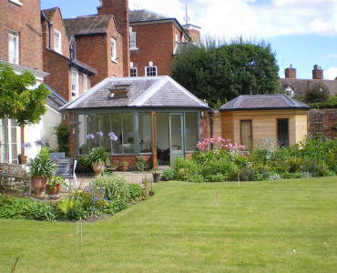 Conservatory Extension, Shrewsbury