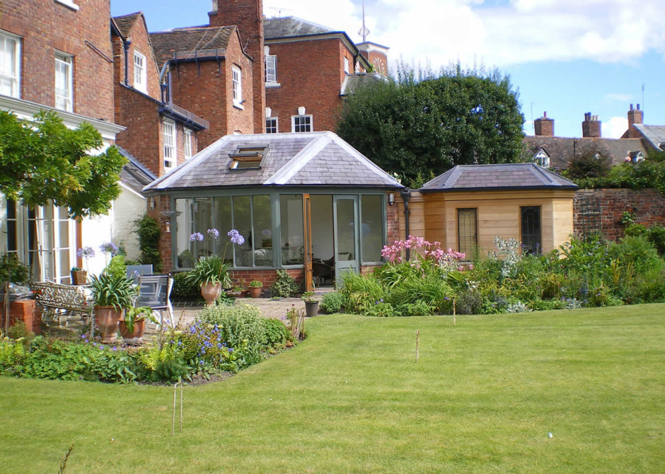 Conservatory Extension, Shrewsbury