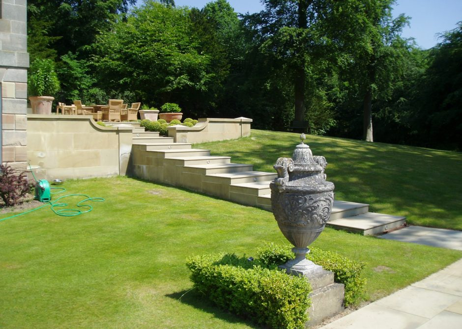 Garden Terraces, Denbighshire